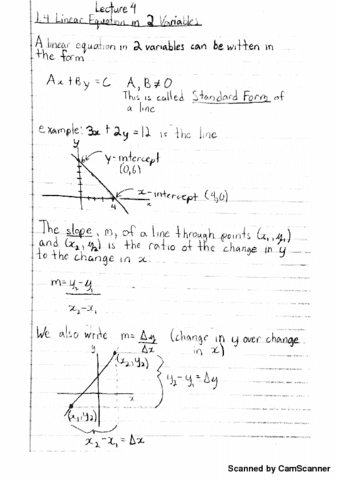 Class Notes For Math 120 At University Of Victoria Oneclass