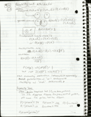 SDS 328M Lecture 5: Lecture 5 Hand-written Notes (Sep 14)