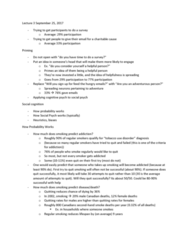 PSYC 2700H Lecture Notes - Lecture 3: Passive Smoking, Chronic Obstructive Pulmonary Disease, Psych