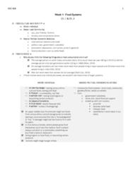 SOC 808 Study Guide - Midterm Guide: World Food Summit, Food Studies, Food Regimes