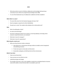 BUSI 1402 Lecture Notes - Lecture 7: Ward Cunningham, Wikiwikiweb, Tag Cloud