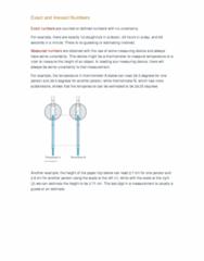 CHEM 110 Lecture Notes - Lecture 2: Significant Figures, Paper Clip, Scientific Notation