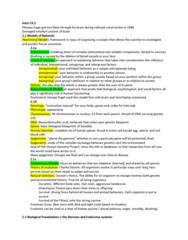 PSY 101 Lecture Notes - Lecture 2: Midbrain Tectum, Lifesaving, Sensory Cortex