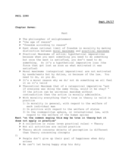 PHIL 2280 Chapter Notes - Chapter 6: Hypothetical Imperative