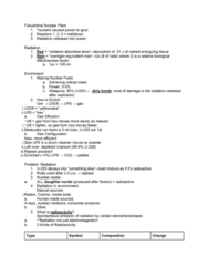CHEM 1100 Lecture Notes - Lecture 10: Photovoltaics, Nuclear Regulatory Commission, Yellowcake