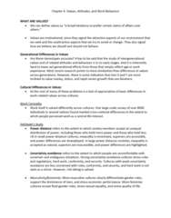 HROB 2090 Chapter Notes - Chapter 4: Cultural Intelligence, Equity Theory, Interactional Justice