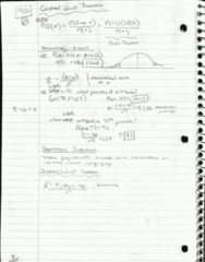 SDS 328M Lecture 7: Lecture 7 (Sep 21) and Lecture 9 (Sep 29) Hand-written Notes