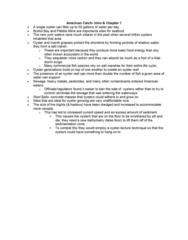 BIOL 220 Chapter Notes - Chapter 1: Silt, Bathymetry, Pebble Mine
