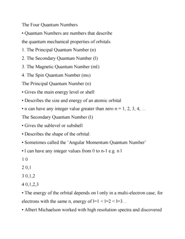 chy-102-final-chy102-exam-notes-the-four-quantum-numbers