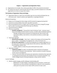 MGT363H5 Chapter Notes - Chapter 1: Empowered, Ellisdon, Frederick Winslow Taylor