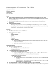 HIST206 Lecture Notes - Lecture 11: Asian Americans, Personal Grooming, The Flapper