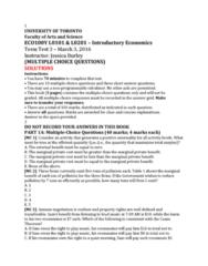 ECO100Y1 Study Guide - Midterm Guide: Autonomous Consumption, Nominal Interest Rate, Time 100
