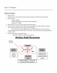 NUTR 3210 Lecture Notes - Lecture 1: Nitrogen Balance, Trypsin Inhibitor, Nitrogen Cycle