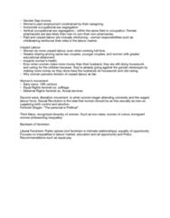 SOCIOL 1A06 Lecture Notes - Lecture 13: Public Sphere, Sex Segregation, Gender Role