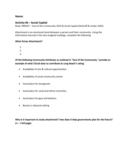 REC 141 Lecture 6: In-class+#6+-+Social+Capital+Worksheet