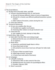HISTORY 2500 Lecture Notes - Lecture 8: Atlantic Charter, Dragaera, Clement Attlee