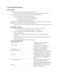 SOC 3116 Lecture Notes - Lecture 1: Montesquieu, Liberté, Égalité, Fraternité, Angel