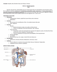 PAT 20A/B Lecture Notes - Lecture 8: Weight Loss, Furosemide, Myalgia