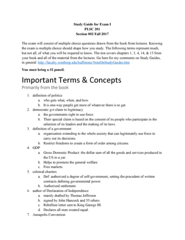 plsc-201-midterm-study-guide-for-exam-i