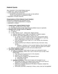 PLSC 201 Lecture Notes - Lecture 16: Certiorari, Oil Spill, Amicus Curiae