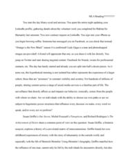 MCB 3020L Lecture Notes - Lecture 9: Fathom, Susan Griffin, Heinrich Himmler