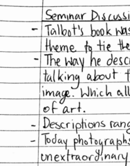 MPS 301 Lecture 1: Seminar Notes 1-3