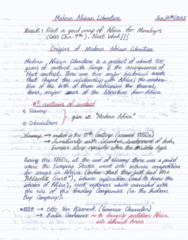 ENGL 2927 Lecture Notes - Lecture 1: Jstor, Chinua Achebe, Japanese Grammar