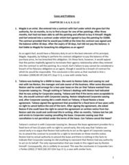 LAW 603 Chapter Notes - Chapter 21-23: Canada Business Corporations Act, Fiduciary, Chief Financial Officer