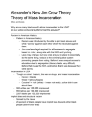 Philosophy PHIL 1320 Lecture Notes - Lecture 8: Jim Crow Laws, Implicit Stereotype, Literacy Test