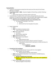 HIST285 Lecture Notes - Lecture 16: Issachar Jacox Roberts, Mao Zedong, Buddhism