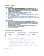 PSYC 2740 Lecture Notes - Lecture 1: Decision-Making, Testability, Human Nature
