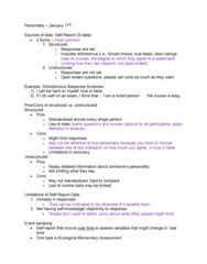 PSYC 2740 Lecture Notes - Lecture 2: Personal Digital Assistant, Suicidal Ideation, Random Assignment