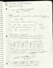 SDS 328M Lecture 14: Hand-written Notes, Oct 19