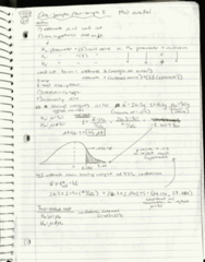 SDS 328M Lecture 11: Hand-written Notes, Oct 10