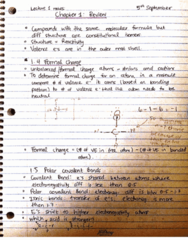 CHEM 2OA3 Final: chapter 1 2OA3 Chem