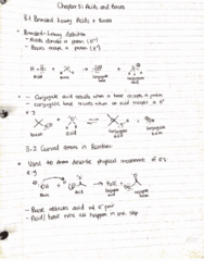 CHEM 2OA3 Lecture 1: chapter 3 lecture 1