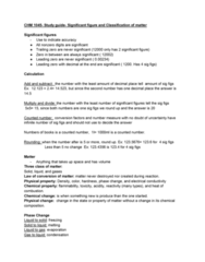 CHM-1045 Study Guide - Midterm Guide: Bromine, Diphosphorus, Chemical Property