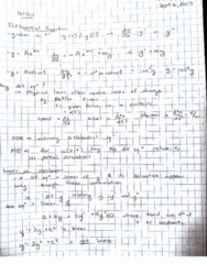 MATH 256 Lecture 1: 256 Ordinary Differential Equations