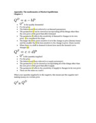 AUECO101 Lecture Notes - Lecture 4: Economic Equilibrium, Making Money, Demand Curve