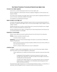 CRIM 335 Lecture Notes - Lecture 3: Canadian Human Rights Act, Canadian Human Rights Commission, Unemployment Benefits