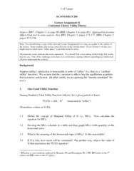 ECO200Y1 Lecture Notes - Lecture 1: Cardinal Utility, Economic Surplus, Price Discrimination