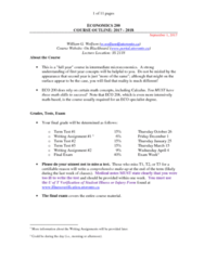 ECO200Y1 Study Guide - Final Guide: Association Of Community Organizations For Reform Now, Stakes Is High, Caveat Emptor