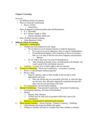 PSY 110 Midterm: Exam 2