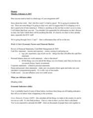 INFO 16029 Lecture Notes - Lecture 3: Cash Flow Statement, Variety Store, Financial Statement