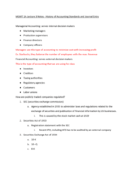 MGMT 1A Lecture Notes - Lecture 3: Registration Statement, Form 10-Q, Starbucks