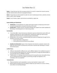SOC100H1 Chapter Notes - Chapter 10: Social Inequality, World-Systems Theory, The Roots