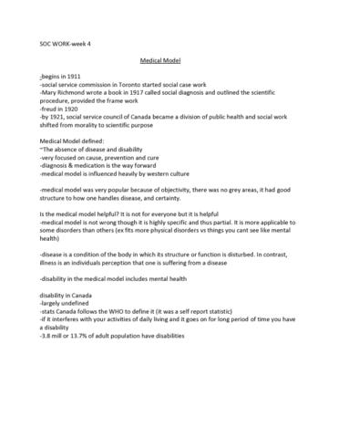 socwork-1a06-lecture-4-medical-model