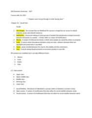 SOC 201S Lecture Notes - Lecture 10: False Consciousness, Socioeconomic Status, Class Consciousness
