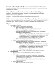 PSY 335 Study Guide - Final Guide: Observational Learning, Mental Model, Attribution Bias