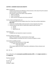 ECON 110 Study Guide - Final Guide: Market Economy, Human Capital, Budget Constraint